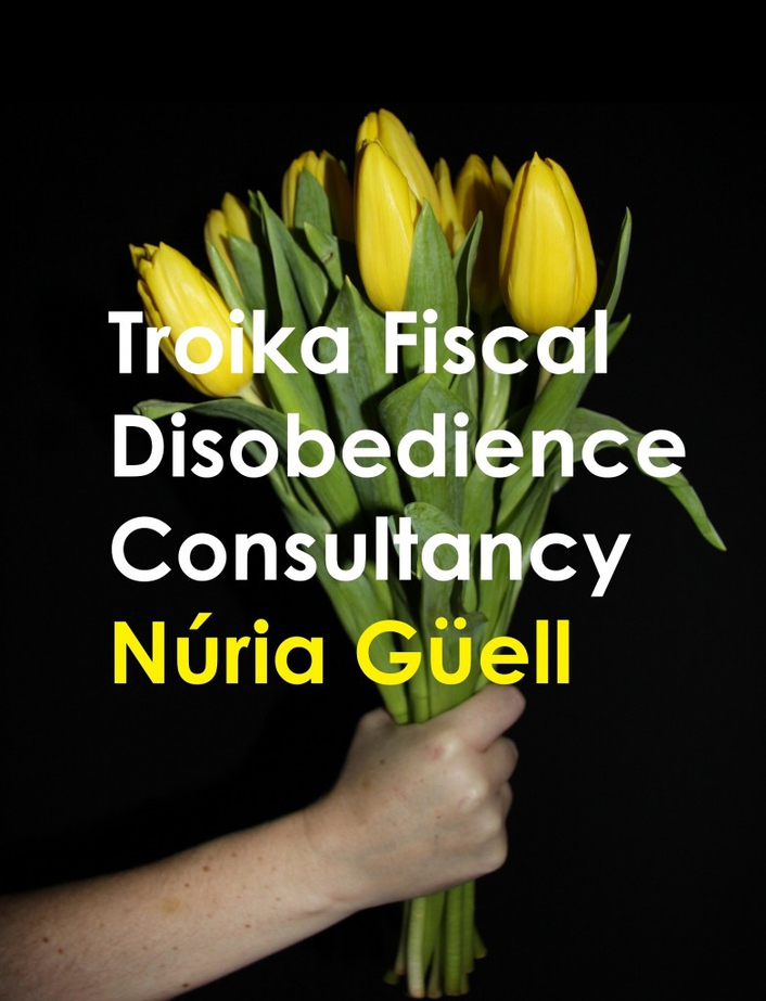 """Troika Fiscal Disobedience Consultancy"" conceptual art exhibition"