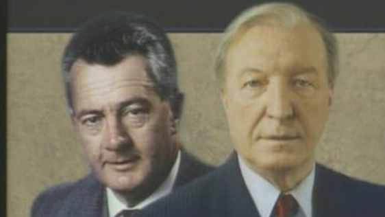 Des O'Malley and Charles Haughey