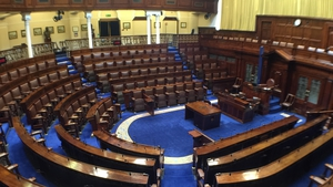 Leaders' Questions is being held in the Dáil