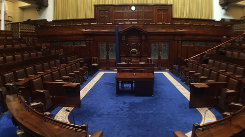 The majority of Fianna Fáil TDs accepted the Government amendment