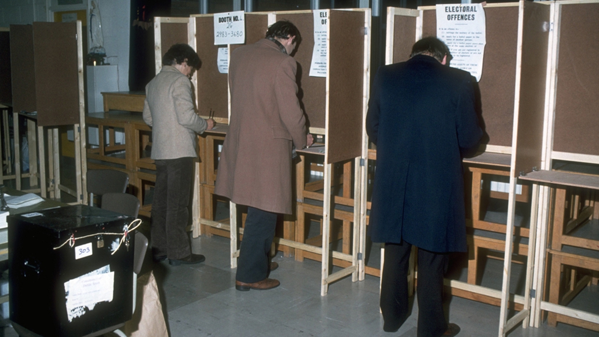 Voting in the 1982 General Election
