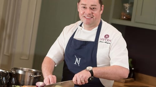 Neven is on an all-Ireland food trail, from Dublin to Adare Manor and home to Blacklion for a tasty dish tonight