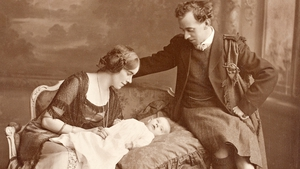 Proclamation signatory Thomas McDonagh, his wife Muriel Gifford McDonagh, and their baby son Donagh pictured in 1913 (All images courtesy of the National Archives of Ireland)