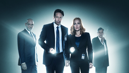 David Duchovny and Gillian Anderson are still searching for the truth in The X Files