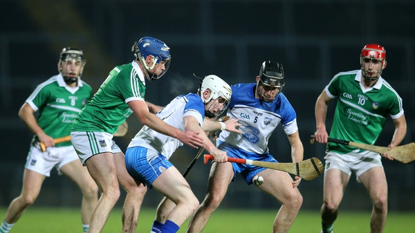Limerick and Waterford played out an entertaining game at the Gaelic Grounds