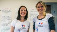Mimi's French Classes creators Angie Canavan (l) and Hélène Giacometti