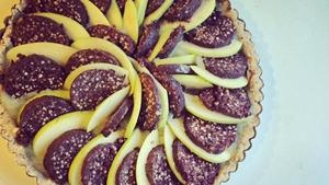 Black Pudding & Apple Tart: Trish Deseine