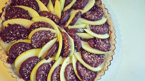 Black Pudding & Apple Tart: Trish Deseine, Today