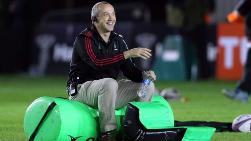 Conor O'Shea is to leave Harlequins