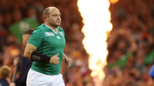 Rory Best takes over from Paul O'Connell