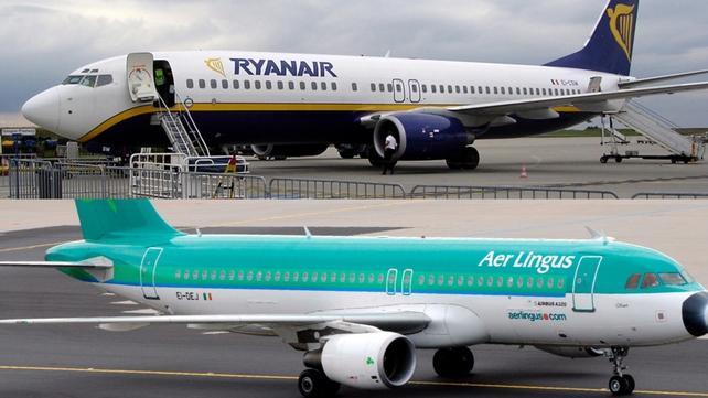 The alliance includes Ryanair and IAG, which owns Aer Lingus