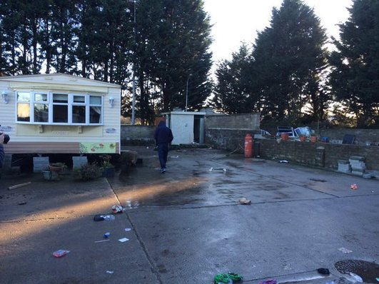 Traveller Site in Dundalk