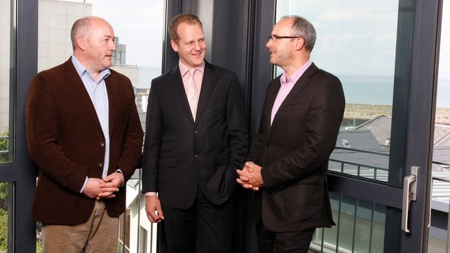 Ian Dodson, founder & Director of DMI, Ken Fitzpatrick, DMI CEO and Anthony Quigley, DMI founder and Director