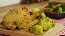 Roast Basil Chicken
