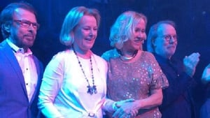 Abba pictured in January 2016
