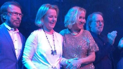Pop legends ABBA