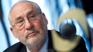 Joseph Stiglitz said there was little or no economic growth since Ireland's financial crisis in 2008