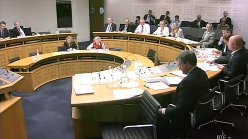 The committee said it decided to invite the firms to a meeting, given the significant role they play in the Irish economy
