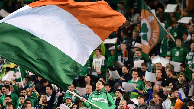 Ireland fans made over 270,000 applications for tickets