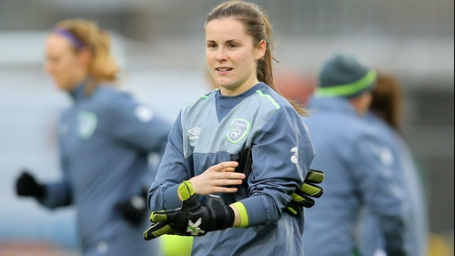 Republic of Ireland and Shelbourne goalkeeper Niamh Reid-Burke
