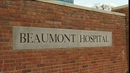 The man was taken to Beaumont Hospital but died today