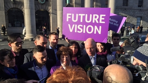 The Social Democrats launched their election manifesto this morning. Pic: Ailbhe Conneely, RTÉ