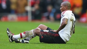 Young will miss Premier League games against Everton and Stoke as well as the FA Cup tie against Derby COunty