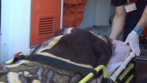 Several children were taken to hospital for treatment