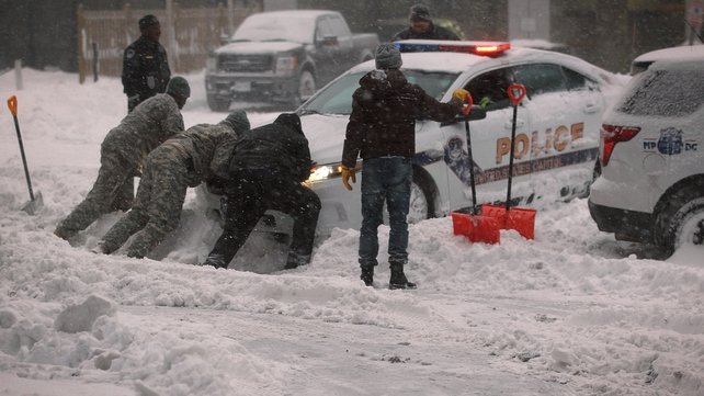 Washington's snowfall could eclipse the 'Snowmageddon' storm of 2010