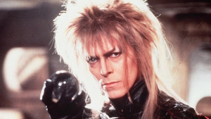 David Bowie as a goblin king in Labyrinth