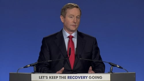 Enda Kenny said the USC will be abolished over the next five years if Fine Gael is re-elected