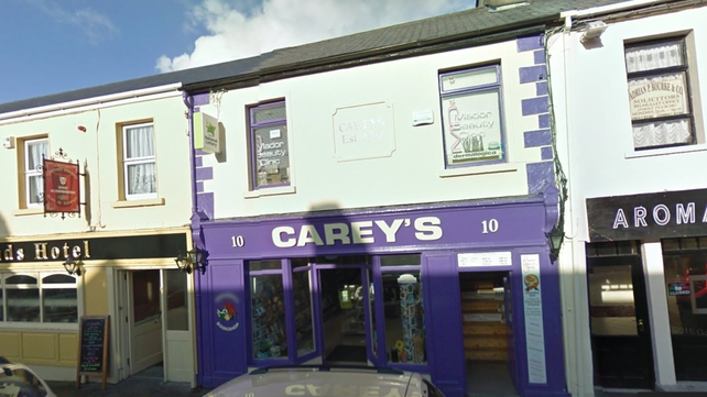 The winning ticket was sold in Carey's, Belmullet (Pic: Google Maps)