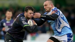 Robbie Henshaw made a try-scoring return for Connacht