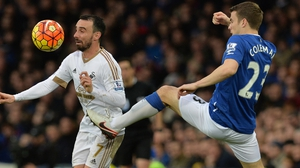 Seamus Coleman returned from injury but was guilty of two missed chances to secure a point for Everton