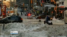 New York travel ban lifted after blizzard