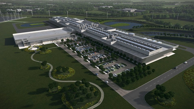 Image of proposed data centre at Clonee (Pic: Facebook)