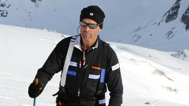 Henry Worsley attempted to become first adventurer to cross Antartic completely unsupported and unassisted