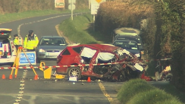 The collision took place just outside Cahir, Co Tipperary, in March 2012