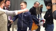 Teenager returns home after double lung transplant