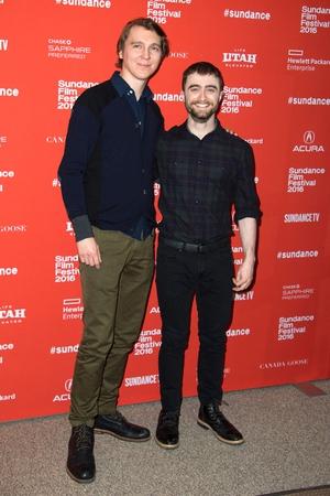Paul Danoe and Daniel Radcliffe