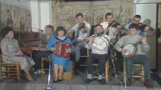 The Bridge Céilí Band in 1986