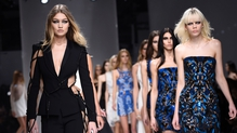 The Atelier Versace runway was full of famous faces