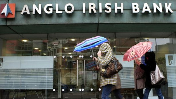 Anglo Irish Bank branch in Belfast