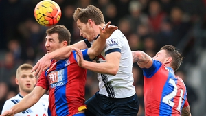 Jan Vertonghen scored an og and was later forced off through injury against Crystal Palace