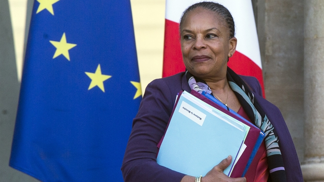Christiane Taubira was popular minister among governing Socialists