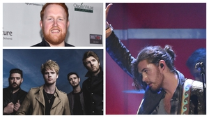 (Clockwise from top) Gavin James, Hozier and Kodaline - On 10-strong shortlist