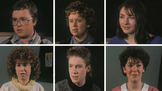 Young People from Limerick on Anything Goes (1986)