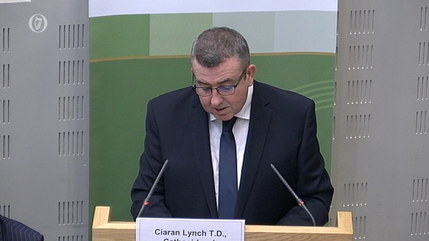 Banking Inquiry Chairman Ciarán Lynch