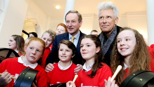 Adam Clayton and Enda Kenny cement commitment to Music Generation funding