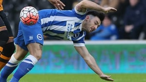 Richie Towell has struggled to make an impact at Brighton